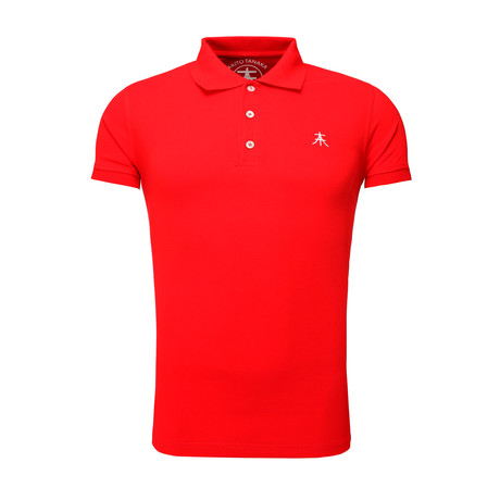 Summary Polo T-Shirt // Red (S)