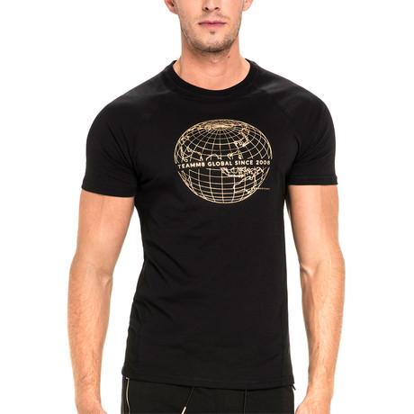 Global T-Shirt // Black (XS)