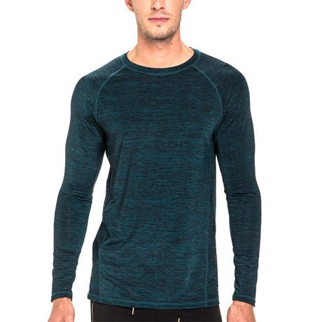 Triumph Long Sleeve T-Shirt // Teal (XS)