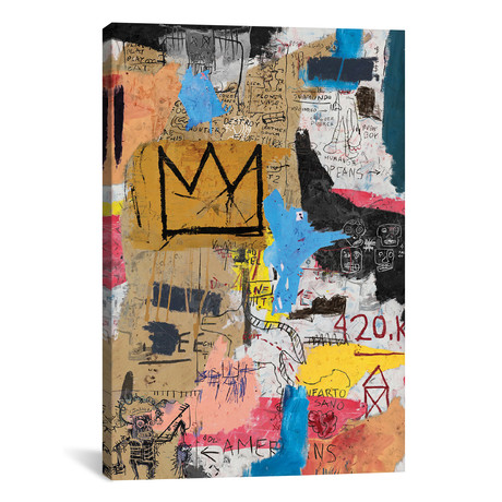 """King King // PinkPankPunk (26""""W x 18""""H x 0.75"""" D)"""