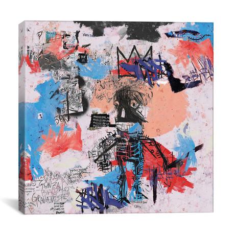 "Samo Is Alive // PinkPankPunk (18""W x 18""H x 0.75"" D)"