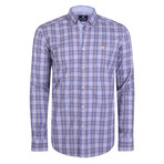 Boreas Dress Shirt // Lilac + Yellow + White (S)