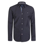 Antlia Dress Shirt // Black + Gray (S)