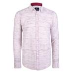 Cronos Dress Shirt // White + Red (XL)