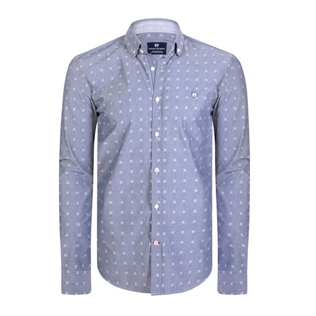Andromeda Dress Shirt // Gray + White (XS)