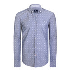 Andromeda Dress Shirt // Gray + White (M)