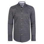 Crux Dress Shirt // Gray + White Point (XS)