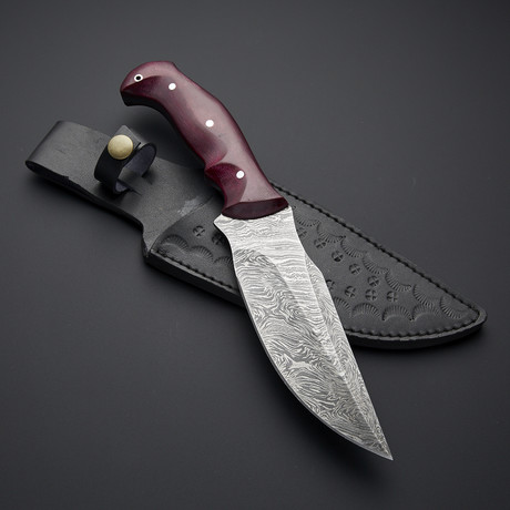 Fixed Blade Hunting Knife // 0269