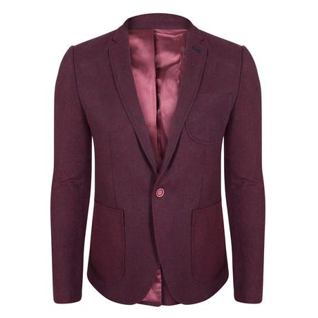 Hydrus Blazer Jacket // Bordeaux (S)