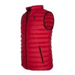 Classic Puff Vest // Red (L)