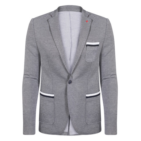 Leo Blazer Jacket // Gray  (XS)