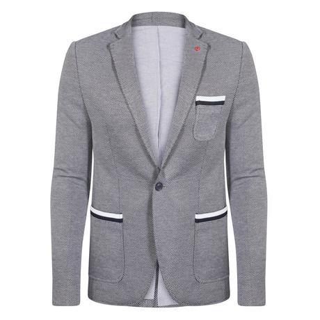 Leo Blazer Jacket // Gray (S)