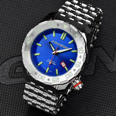 Aragon Sea Charger Automatic // A082BLU