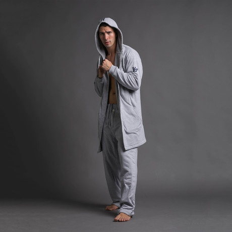 Robe + Pants // Gray (S/M)
