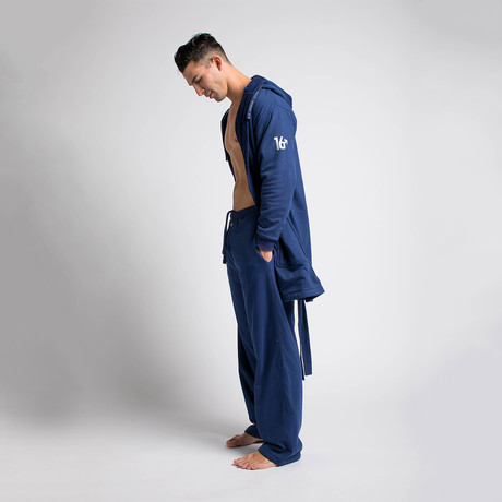 Robe + Pants // Navy (S/M)