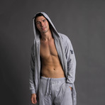 Robe + Pants + Shorts // Gray (S/M)