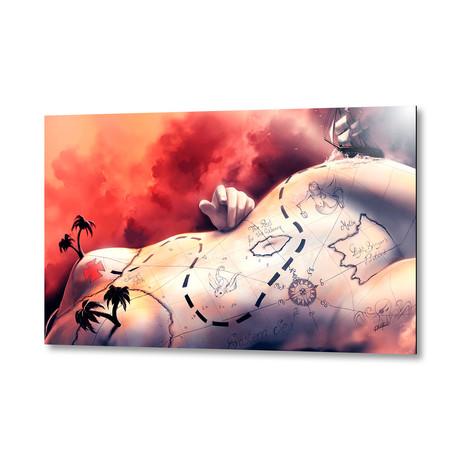"Coeur De Pirate // Aluminum Print (16""W x 24""H X 1.5""D)"