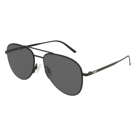 Puma // Double Blade Sunglasses // Black + Gray