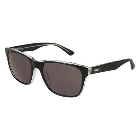 Puma // Gramercy Sunglasses // Black + Gray