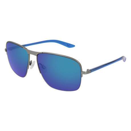 Puma // Pro-Light Sunglasses // Ruthium + Blue