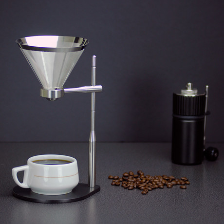 Minimal Coffee Stand + Stainless Steel Filter