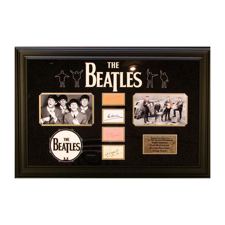 Beatles // Original Ink Signature Ensemble