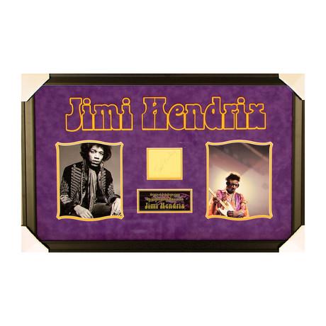 Jimi Hendrix // Original Ink Signature
