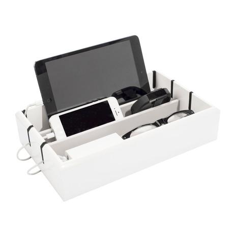 OYOBox Tech Tray // White