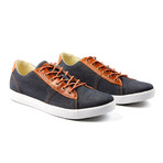 Damm Denim Low-Top Sneakers // Gray (Euro: 43)