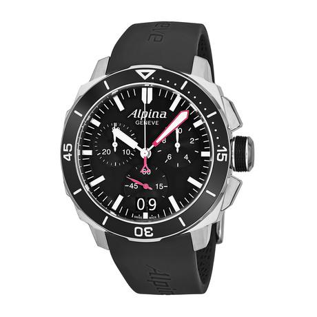 Alpina Seastrong Diver Chronograph Quartz // AL-372LBG4V6