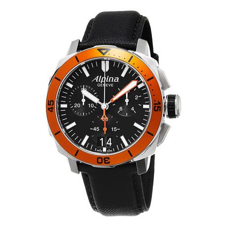 Alpina Chronograph Quartz // AL-372LBO4V6