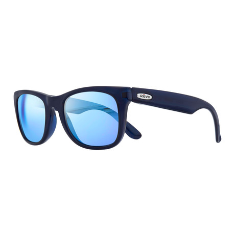 Cooper Sunglasses // Crystal Blue + Blue Water