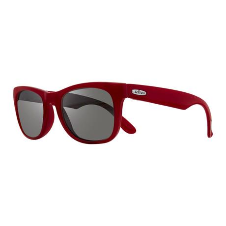 Cooper Sunglasses // Red + Graphite