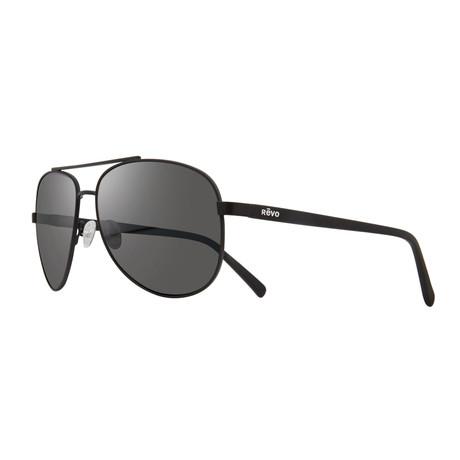 Shaw Sunglasses // Black + Graphite