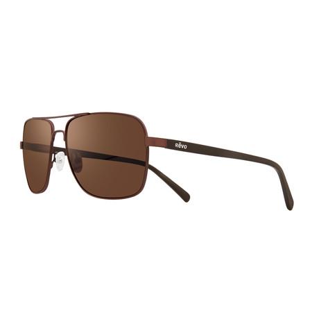 Peak Sunglasses // Matte Brown + Terra