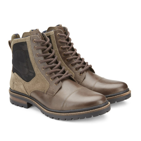 Milburn Mid-Top Boot // Olive (US: 12)
