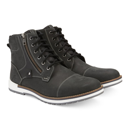 Lancaster High-Top Boot // Black (US: 7.5)