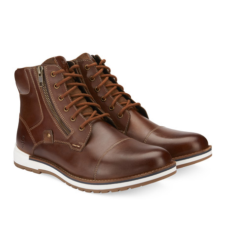 Lancaster High-Top Boot // Brown (US: 7.5)