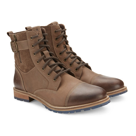Kenton High-Top Boot // Brown (US: 7.5)