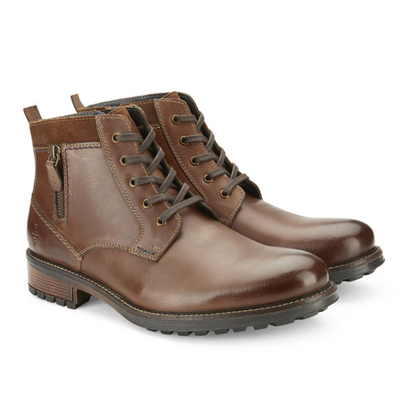 Safford Mid-Top Boot // Brown (US: 7.5)