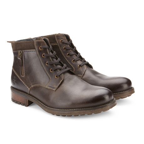Safford Mid-Top Boot // Dark Brown (US: 7.5)
