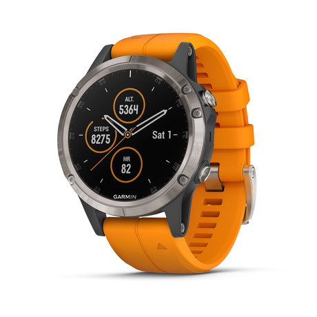 Garmin Fenix 5 Plus Quartz // 010-01988-04