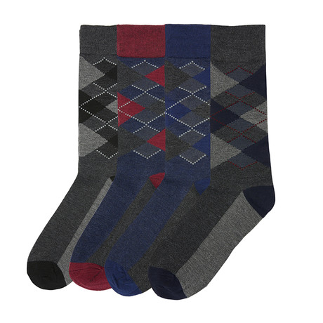 Preppy Argyle // Pack of 4
