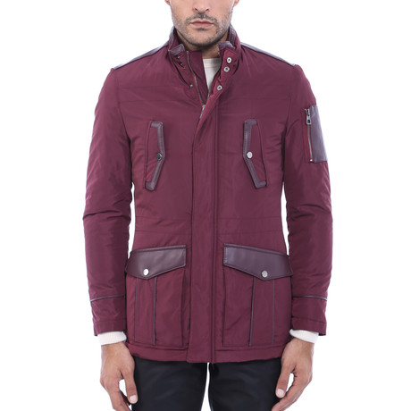 Ross Coat // Burgundy (Euro: 44)