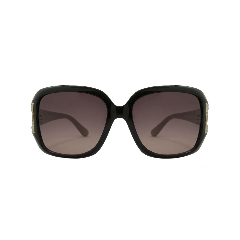 15476ddff4 78f72ad37b5570d576607153fda251af medium. Ferragamo    Women s Rectangle  Sunglasses    Black + Tan Temples + Brown Gradient