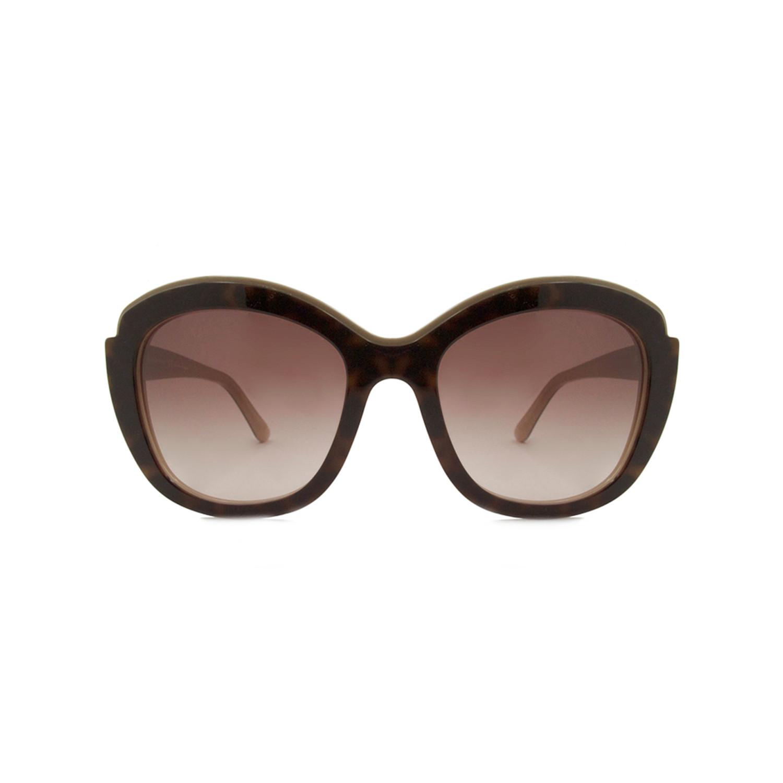 3099937caff 3b995457146589fb22f4351b866f5a95 medium · Ferragamo    Cat Eye Sunglasses     Havana Beige + Brown Gradient