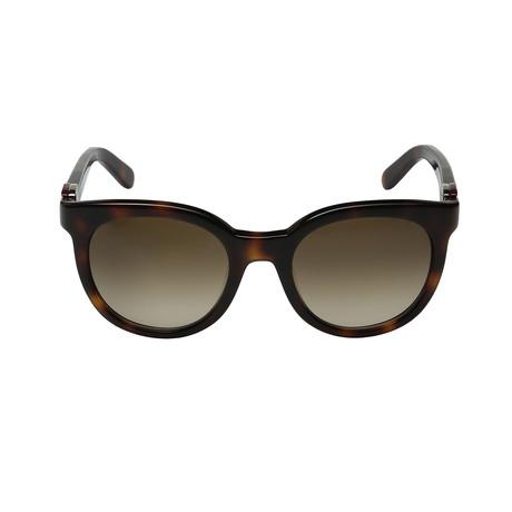 Ferragamo // Women's SF783S Sunglasses // Havana + Brown Gradient