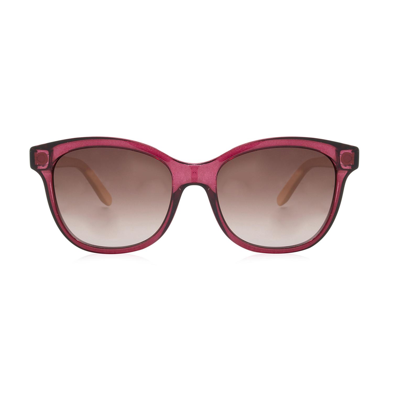 5c7b40a103 0f5ec80064e11fe65e1db4b5fe2f91f4 medium · Ferragamo    Women s Rectangular  Transparent Sunglasses    Burgundy + Burgundy