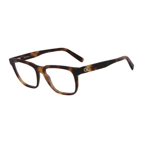Ferragamo // Men's SF2780 Optical Frames // Havana