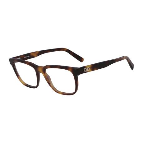Ferragamo // SF2780 Eyeglass Frames // Havana